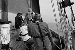 L'équipage en action